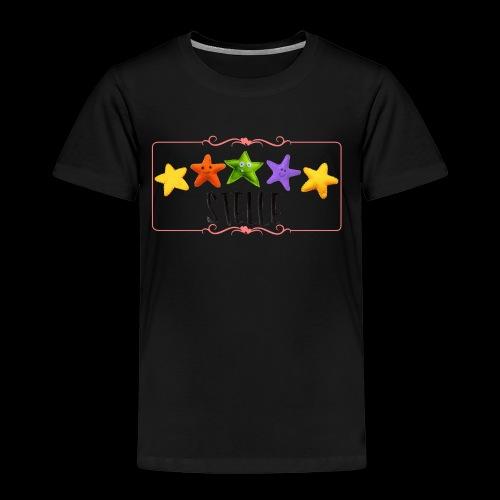 5 Stelle pezza contorno - Maglietta Premium per bambini