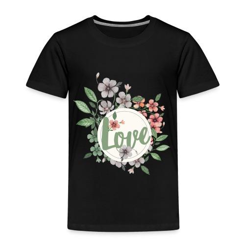 Love - Maglietta Premium per bambini