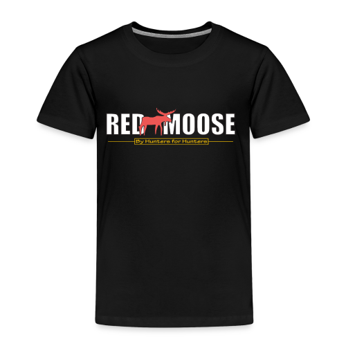 Red Moose logo - Premium-T-shirt barn