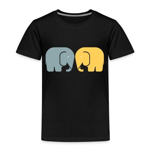 Vi två elefanter - Premium-T-shirt barn