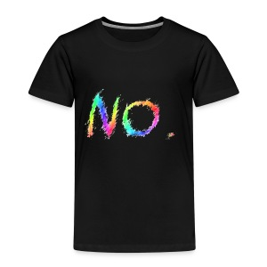 No. - Kinderen Premium T-shirt