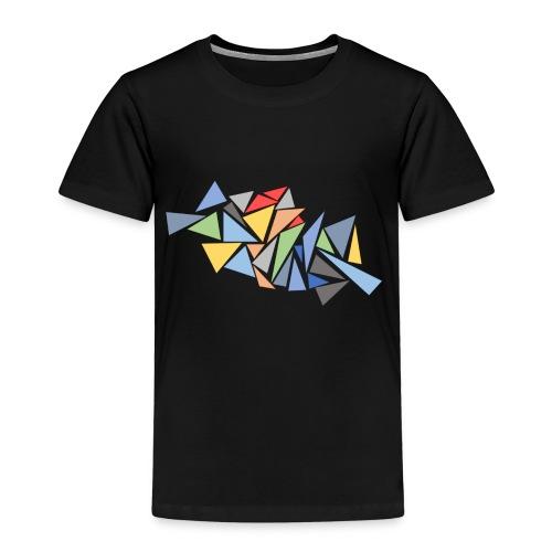 Modern Triangles - Kids' Premium T-Shirt