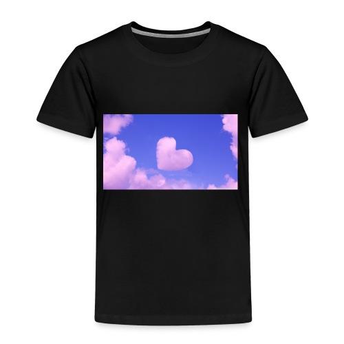 coeur nuage ciel rose - T-shirt Premium Enfant