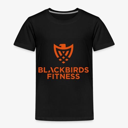 Blackbirds Fitness Logo orange - Kinder Premium T-Shirt