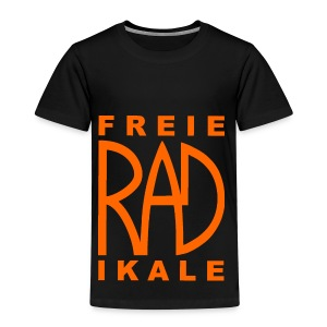 Freie RADikale Logo orange - Kinder Premium T-Shirt