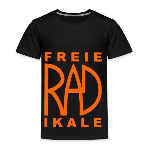 Freie RADikale Logo orange - Kinder Premium T-Shirt