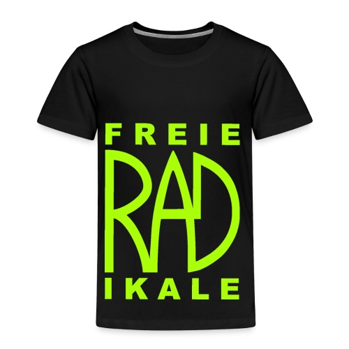 Freie RADikale Logo Gruen - Kinder Premium T-Shirt