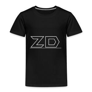 T shirt Text Hoodie Text Front - Børne premium T-shirt