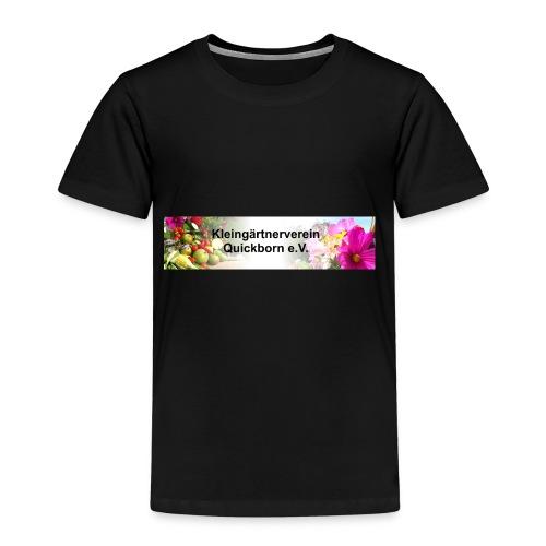 Banner Kleingärtnerverein Quickborn - Kinder Premium T-Shirt