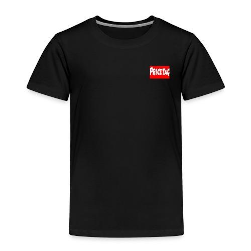 Red And White pricetag - Kids' Premium T-Shirt
