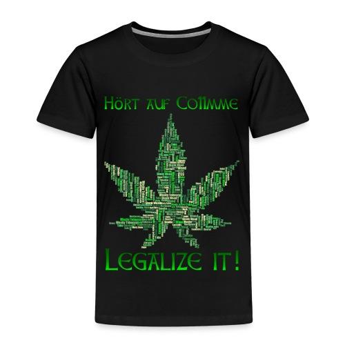 Legalize Weed (Germany) - Kinder Premium T-Shirt