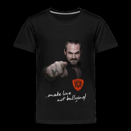 Carsten Stahl - Make Love Not Bullying - Kinder Premium T-Shirt