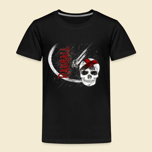 Radball | Cycle Ball Skull - Kinder Premium T-Shirt