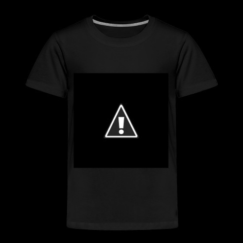 !warning! - Kinder Premium T-Shirt