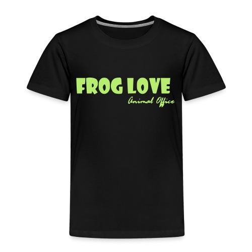 Frosch Liebe - Kinder Premium T-Shirt