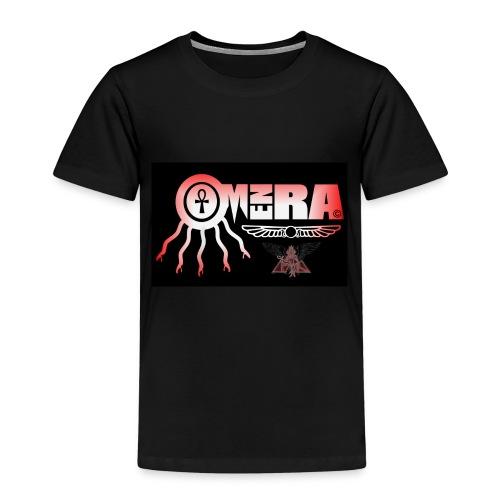OMEN RA RED AND BLACK LOGO - Kids' Premium T-Shirt