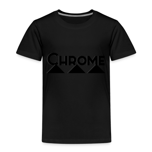 Chrome Mountain Logo - Kinder Premium T-Shirt