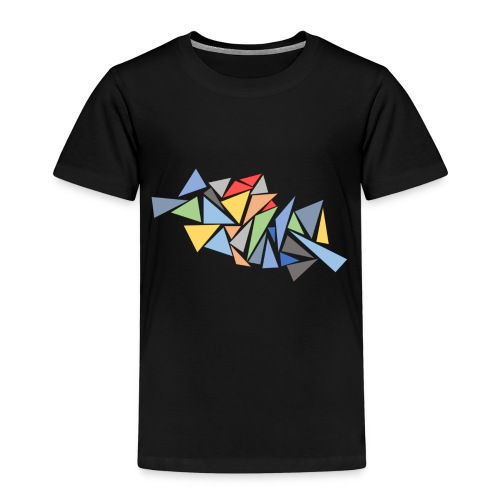 Modern Triangles - Kids' Premium T-Shirt