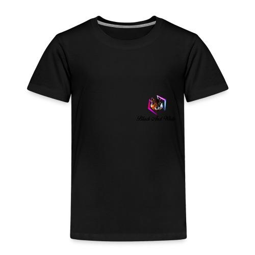 Logo Black And White Lato Destro - Maglietta Premium per bambini