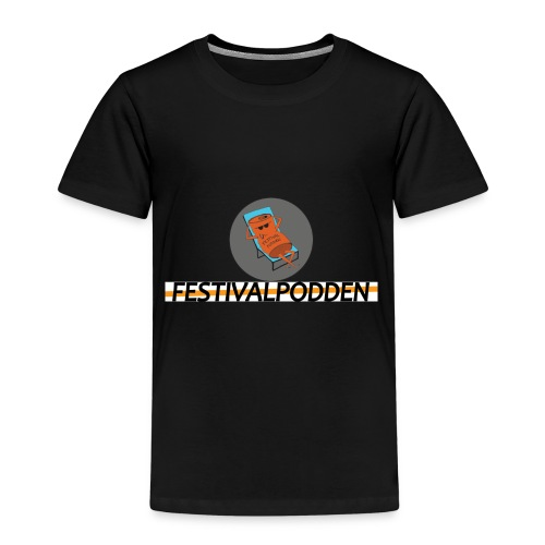 Festivalpodden - Loggorna - Premium-T-shirt barn