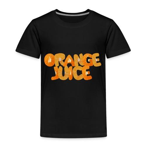 Orangene Orange - Kinder Premium T-Shirt