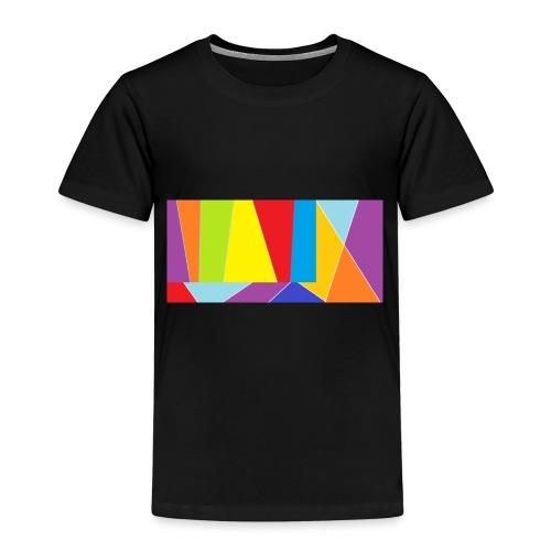 coler full emblem with black bakround - Premium-T-shirt barn