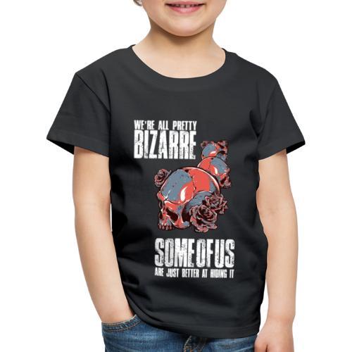 Gothic Totenkopf Schwarz - Kinder Premium T-Shirt