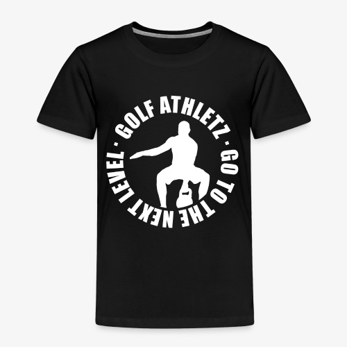 THE NEXT LEVEL - Kettlebell Trainings Sport Shirt - Kinder Premium T-Shirt