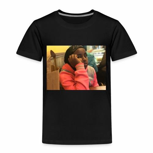 my enjoying little sis - Kinderen Premium T-shirt