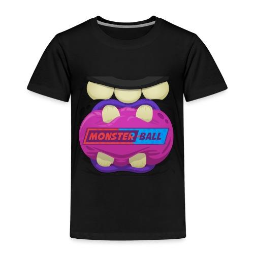 Monster Chew Logo - Kids' Premium T-Shirt