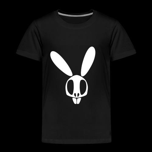 Bunnyskull Weiß - Kinder Premium T-Shirt