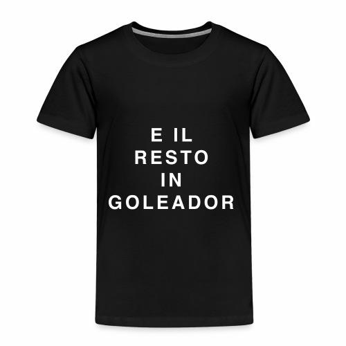 Goleador (White) - Maglietta Premium per bambini