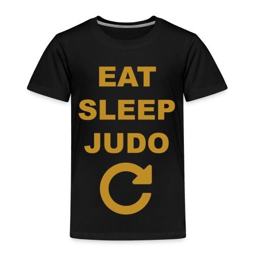 Eat sleep Judo repeat - Koszulka dziecięca Premium