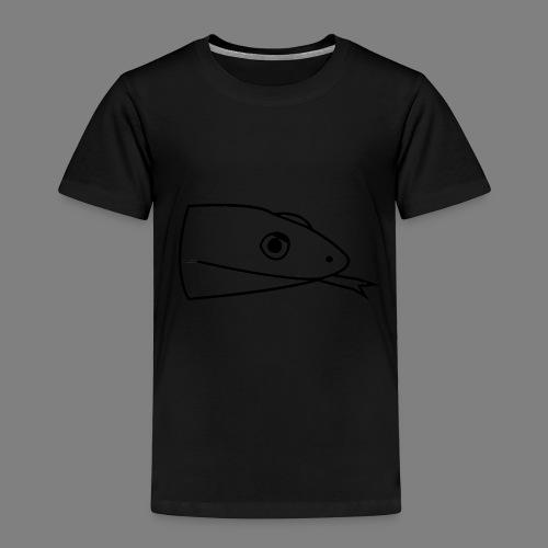 Snake logo black - Kinderen Premium T-shirt