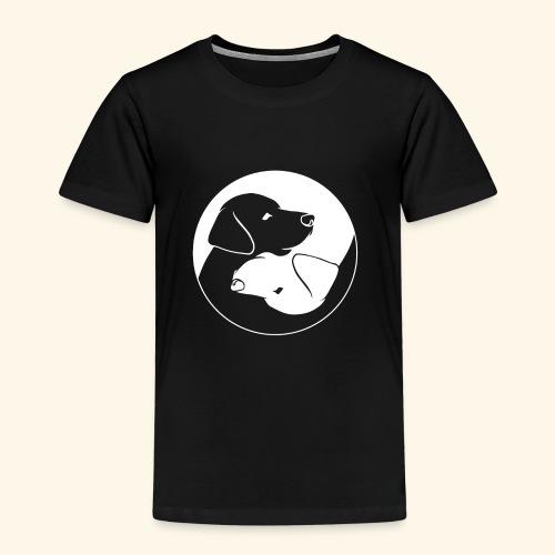 Yin Yang Labrador - Labbi - Geschenkidee - Kinder Premium T-Shirt