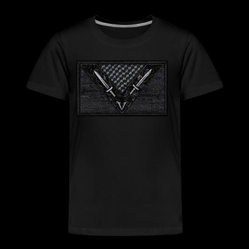 Vegan Battle Flag - Kinder Premium T-Shirt
