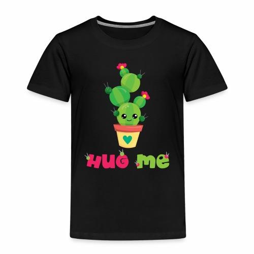 HUG ME - Kakteen Comic Kaktus Geschenk Shirts - Kinder Premium T-Shirt