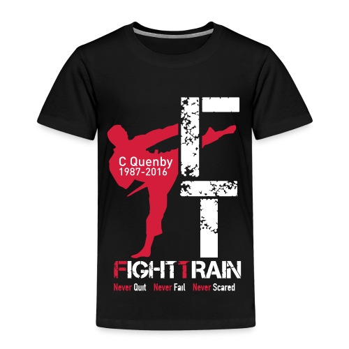 Fight Train 'The Collection' Range - Kids' Premium T-Shirt