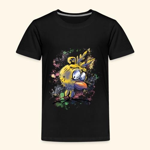 vogeltshirt volledig gekleurd artwork - Kinderen Premium T-shirt