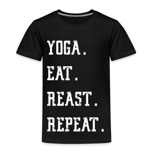Gym Fitness Shirt for men and women – Yoga - Kinder Premium T-Shirt