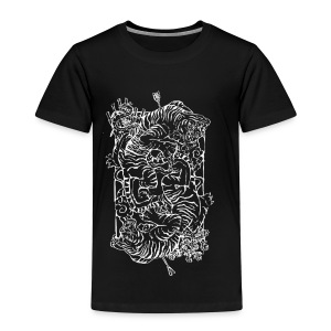Tiger Print - Kids' Premium T-Shirt