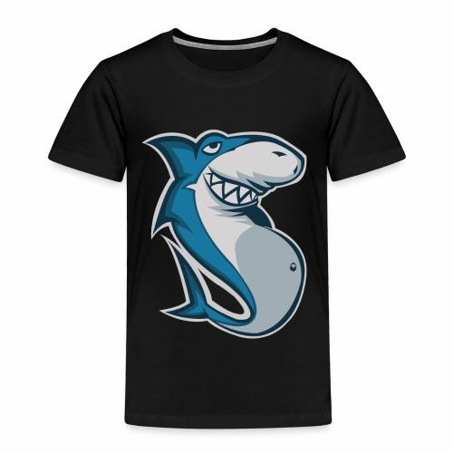 Fatsharkyes logo BIG - Premium-T-shirt barn