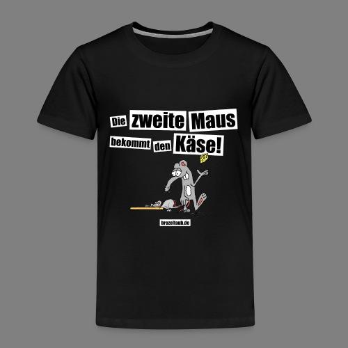 Die zweite Maus - Kinder Premium T-Shirt