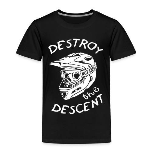 Destroy the Descent by Nut and Bolt Apparel - Kids' Premium T-Shirt