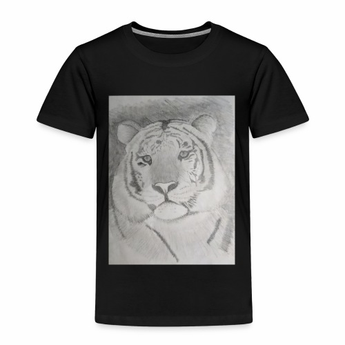 tiger art - Kids' Premium T-Shirt