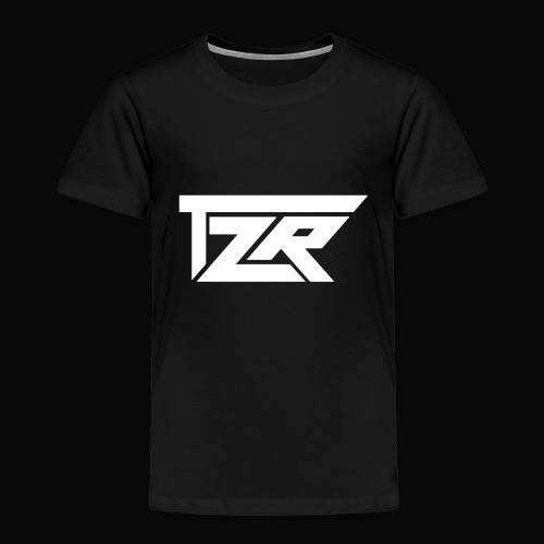 TZR White Logo - Kids' Premium T-Shirt