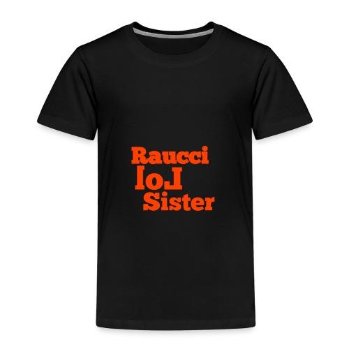 RaucciLolSister - Maglietta Premium per bambini