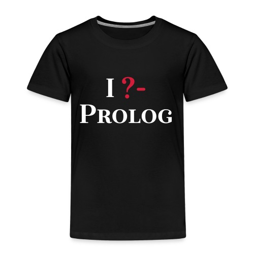 I ?- Prolog - Kinder Premium T-Shirt