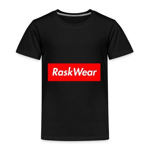 RaskWear Box Logo - Børne premium T-shirt