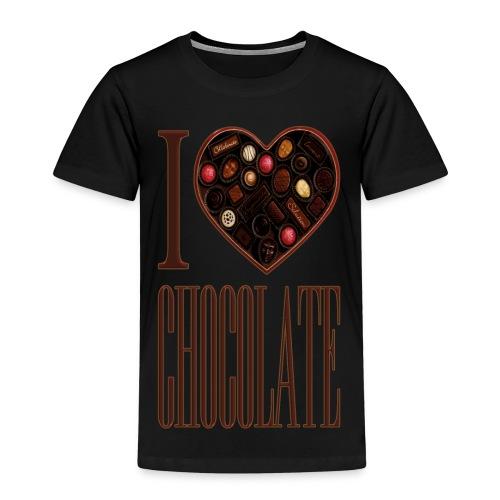 I Love Chocolate - Kids' Premium T-Shirt